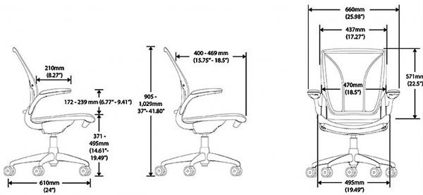 Diffrient World Chair Specification