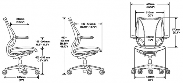 Liberty Task Chair Specification