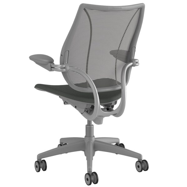 Humanscale Liberty Task Chair | Silver Frame - Revive Fabric Rare View