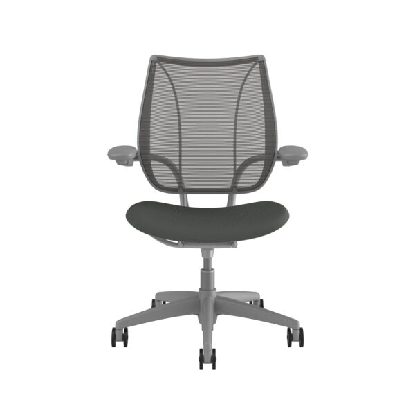 Liberty Task Chair Silver Frame Revive Fabric
