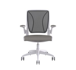 Diffrient World Chair White Frame – Relay Fabric