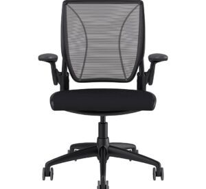 Diffrient World Chair Black Frame - Black Fabric