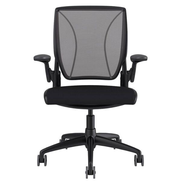 Diffrient World Chair Black Frame - Black Fabric