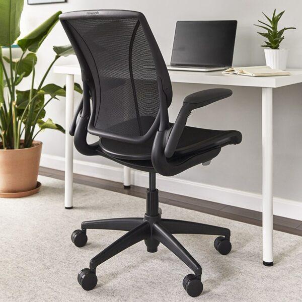 Humanscale World One Task Chair Setup Look