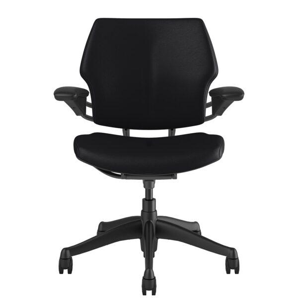 Freedom Task Chair Graphite Frame – Bizon Black