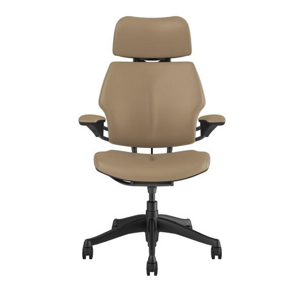 Freedom Headrest – Graphite Frame – Bizon Leather