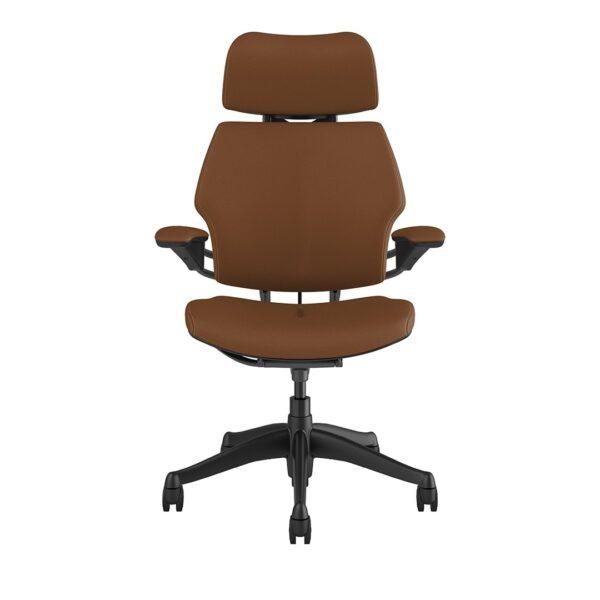 Freedom Headrest - Graphite Frame – Corvara Leather Saddle Tan